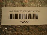 AMP 2CH PCB zu Jamo AVR 793  74551
