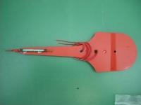 Zeiger mit Schaltröhre und Magnet zu H..