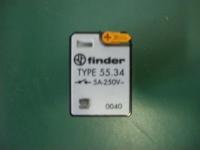 finder Type 55.34 5A 250V 0040