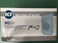 RCF MQ50i silver  ( Cod. 130.00.140 )