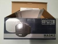 APart MASK2 WEISS / white (1Paar)