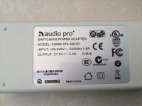 Audio Pro Adapter white LV2 Model GPE602-240200W