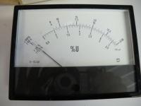 Drehspuhl-Messgerät MATTER  318 127/001 %U